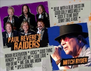 websize_Paul Revere's Raiders Featuring Mitch Ryder