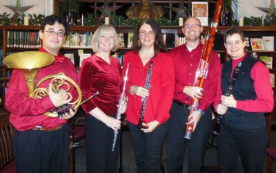 Davis Arts Council welcomes Wi-Fi(ve) Woodwind Quartet