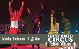 Rhythmic Circus: Feet Don't Fail Me Now